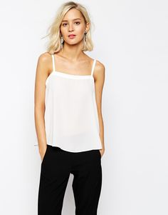 This minimal white top is a great basic item. I call them ''life savers'' – things that go with everything and are easy to dress up and down. Find it here: http://asos.do/ziBaHV