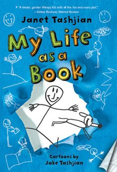 My Life As a Book.....reluctant reader spends summer in a learning camp.....he learns strategy of visualizing to help him read better.....grows up a lot in the summer.....finds out the teacher's pet isn't so bad after all, even though she is a girl....finds out about tragedy when he was a toddler