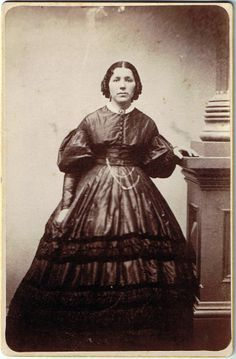 Cabinet Card: Woman, 1860s