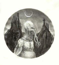 "Echa un vistazo a mi proyecto @Behance: ""The creature under the moon"" https://www.behance.net/gallery/62839603/The-creature-under-the-moon"