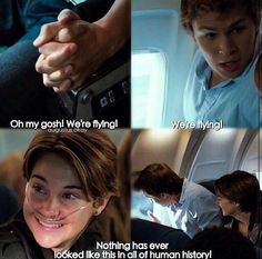 Nothing has ever looked like this in all of human history! - Augustus Waters.      The Fault In Our Stars