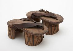 Africa | Sandals.  Shuwa Arabs.  | Collected in Cameroon in 1910/11