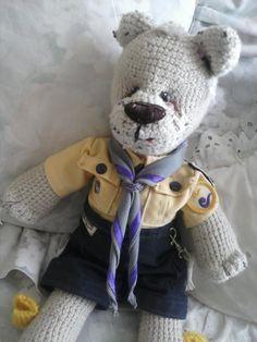 Crochet bear. Un  pedido especial para alguien muy especial   Crochet. #oso # amigurumi  http://eltallerdesahiel.blogspot.mx/