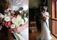 bouquet shape, different colors
