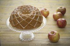 Bizcocho de manzana y nata