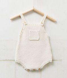 vintage baby knit