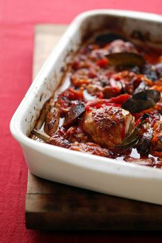 Chicken & Chorizo Hot Pot