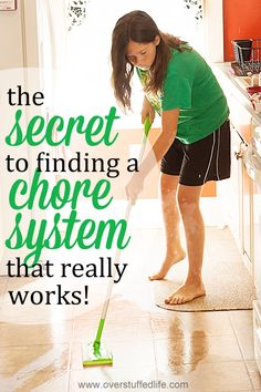 I've tried 30 different chore systems, and they all eventually fail. So does a chore system exist that actually works? I finally figured out the secret! #overstuffedlife