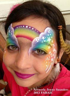 Jenny Saunders    rainbow design