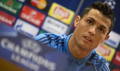 Cristiano Ronaldo walks out of Real Madrid press conference