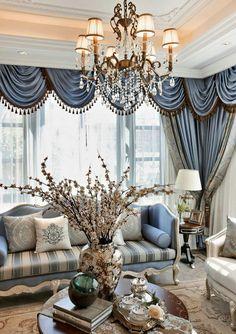 暖家较少推荐新古典风格,一是造价普遍较高...