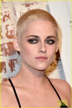 Kristen Stewart Shaves Her Head, Bleaches Hair Blonde!