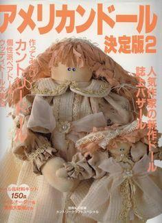 Revista Japonesa de Bonecas de Pano N2-150