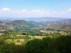 View from Castle del Piano #maremma #tuscany