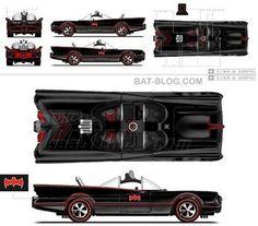 BAT - BLOG : BATMAN TOYS and COLLECTIBLES: EXCLUSIVE 1966 BATMOBILE Hot Wheels Car Avaliable Through Mattel's RED LINE CLUB