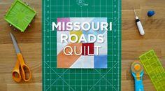 Quilt Snips Mini Tutorial: Missouri Roads