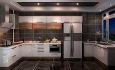 Cocinas Kitchen, Modern Kitchen Design, Modern Kitchens, Small Living Rooms, House Goals, New Kitchen, Kitchen Ideas, Kitchen Accessories, Architecture Design