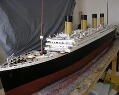 Man Spends Two Years Building Exact Titanic Replica from Scrap - In what can only be described as a titanic effort, boat-model enthusiast Jason King, from England, has spent two and a half years building an exact 1:100 scale replica of the Titanic. The 40-year-old used all kinds of scrap materials, from old clockworks to broken VCRs and managed to finish his masterpiece on April 15, exactly 100 years after the real Titanic sunk.