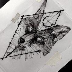 (50 Фото) Эскизы Тату Лиса для Девушек 2019 года | TattooAssist M Tattoos, Wolf Tattoos, Flower Tattoos, Body Art Tattoos, Fox Tattoo Design, Tattoo Designs, Tattoo Sketches, Tattoo Drawings, Fuchs Tattoo