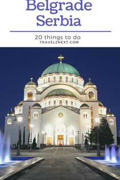 20 Things to do in Belgrade. A legacy of Prince Miloš Obrenović's first reign, this palace dates back to the 1830s and was built to provide luxury to the Serbian royals. #traveltips #serbia #belgrade #travel Stuff To Do, Things To Do, Belgrade Serbia, Serbian, Eastern Europe, Reign, Modern Architecture, Dates, Royals