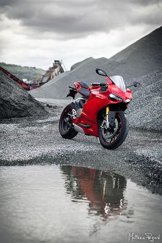 Ducati 1199 Panigale S by Matthieu Pegard on Flickr.