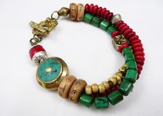 Tibetan Beaded Bracelet