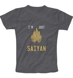 Just Saiyan T-Shirt