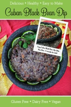 Start to finish, this Super Easy Super Bowl Party Menu takes a total of less than 2 hours to prepare. Every item on this Caribbean-inspired menu is full of flavor and easy to make, including my Creamy Cuban Black Bean Dip! Appetizers For Party, Appetizer Recipes, Super Bowl Menu, Amazing Vegetarian Recipes, Black Bean Dip, Healthy Dips, Seasonal Food, Top 5, Cuban
