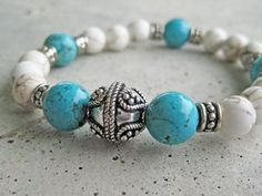 The handmade beaded bracelet is a wonderful accessory to highlight those spring and summer fashions.