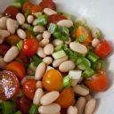 Canary, Mayocoba, or Peruvian White Bean (Peruano Bean) Salad