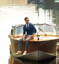 I just want to sit on my Riva and relax #riva #classic #gentleman