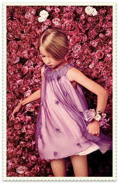 Dior, Pink Frocks For Girls, Little Girl Dresses, Girls Dresses, Young Fashion, Girl Fashion, Dior Kids, Baby Dior, French Kids, Little Kid Fashion