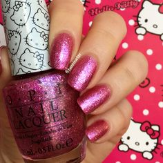 Starry-eyed for dear Daniel - OPI Hello Kitty collection