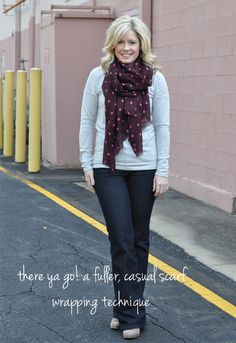Finally the how to wrap the full wrap around scarf http://www.thesmallthingsblog.com/search/label/style