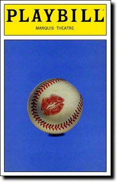 Playbill Cover for Damn Yankees at Marquis Theatre - Opening Night, March 1994