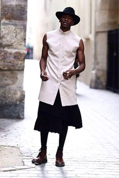 Man Skirt: 10 Things I Didn't Know About the Relationship French Men Have with Fashion. Its true.
