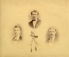 James Forrest, Charles Patterson and George Stephenson. Perished in the Windsor Hotel Fire at the corner of Division and Swayne Streets in Cobourg, Ontario, Canada - April 25, 1878