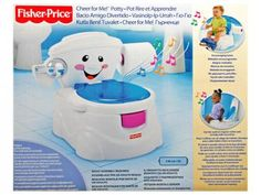 Troninho Toilette - Fisher-Price com as melhores condições você encontra no Magazine Gatapreta. Confira!