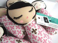 Mini Mend Cloth Doll Ready to Ship by MendbyRubyGrace on Etsy, $15.00