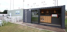 The Container – a mobile coffee shop planned and designed by Liat Eliav for a design competition and built in five weeks.The competition was an initiative of the Israeli Building Center and Gal Marine company to promote the idea of converting commercial …