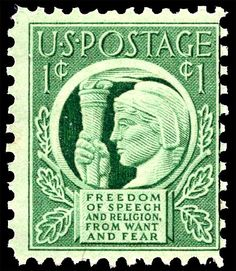 US Stamps  1943. Scott # 908