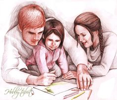 Hunger Games: Family Mellark (finished) by Hobby-tribut