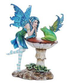 Another great find on #zulily! Frog Gossip Figurine #zulilyfinds