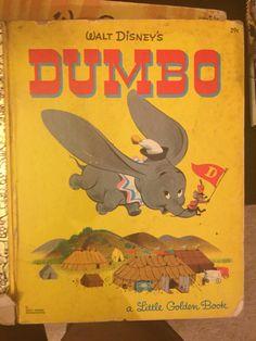Walt Disney's Dumbo Little Golden Book