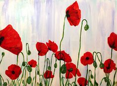 poppies are like little bursts of life