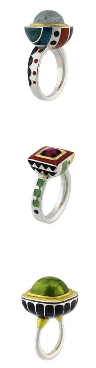 Designers Guild Collection Rings by ALICE CICOLINI http://www.alicecicolini.com/designersguildfullcollection.htm