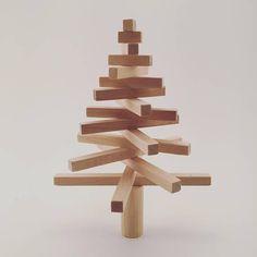 Christmas tree wooden Christmas tree ecofriendly tree