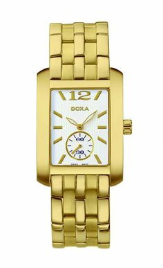 Doxa New Style Men / 243.30.013.11 Fine Watches, Gold Watch, Over The Years, Dress Watches, Bracelet Watch, Style Men, Wristwatches, Product Launch, Mens Fashion