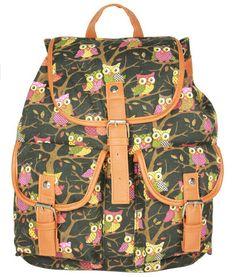 stacy bag hot sale women printing backpack canvas cartoon floral print casual travel backpack student school bag ladies bag $9.00