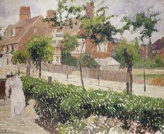 Bath Road, London, Camille Pissarro